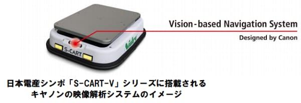キヤノン、日本電産と次世代AGV・AMR分野で協業開始
