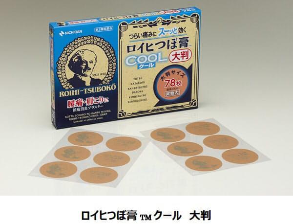 ニチバン、鎮痛消炎剤「ロイヒ」シリーズから「ロイヒつぼ膏 クール 大判」を発売