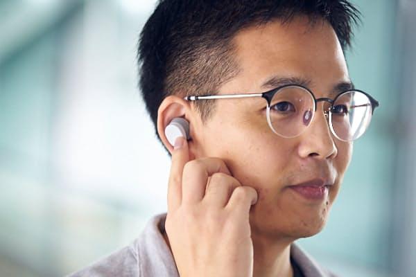 NEC、「トゥルーワイヤレス型ヒアラブルデバイス」を応援購入サービス「Makuake」で先行予約発売