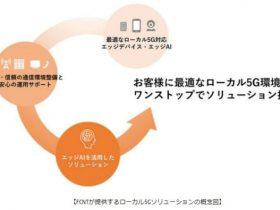 富士通コネクテッドテクノロジーズ、ローカル5G対応したスマートデバイスを開発