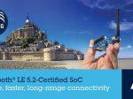 STマイクロ、通信距離やセキュリティなどが向上したBluetooth LEシステム・オン・チップを発表