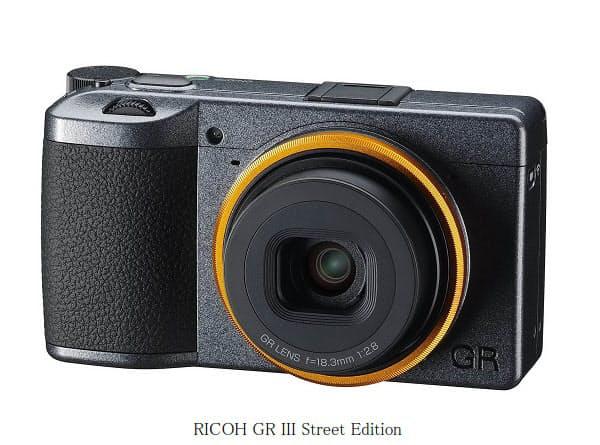 リコーとリコーイメージング、「RICOH GR III Street Edition」を期間限定発売