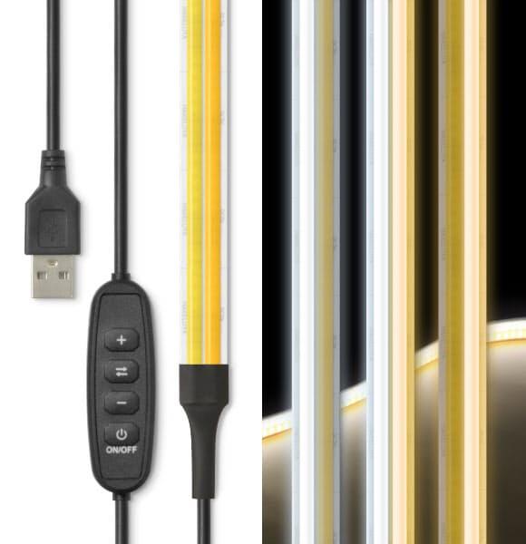日本トラストテクノロジー、「LED 2本線テープライト ニホンの貼レルヤ USB」を通信販売限定発売