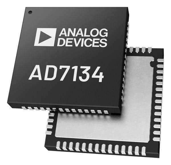アナログ・デバイセズ、エイリアス・フリーA/Dコンバータの新製品「AD7134」を発表