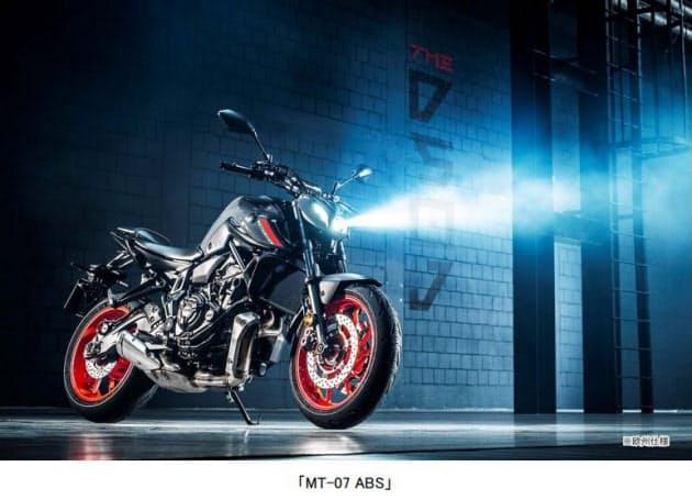 ヤマハ発動機、ロードスポーツ「MT-07 ABS」をマイナーチェンジし欧州向けに発売
