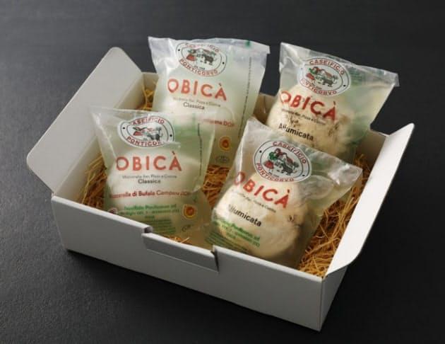 ワンダーテーブル、オービカ モッツァレラバーにてオリジナルのフレッシュモッツァレラチーズを販売