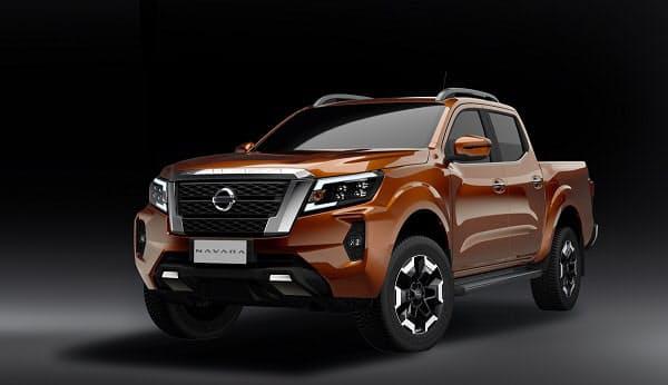 日産自、新型ピックアップトラック「日産 ナバラ」を発表