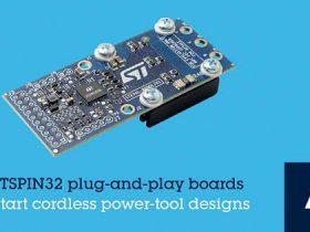 STマイクロ、コードレス電動工具の開発を簡略化するプラグ・アンド・プレイ型のBLDCモータ制御用開発ボードを発表