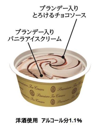 ロッテ、「レディーボーデン リカーデザート とろけるチョコソース&バニラ」を発売