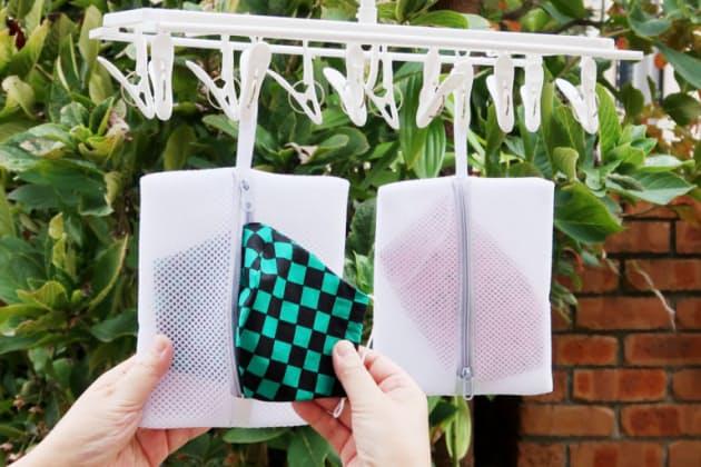 小久保工業所、マスク用洗濯ネット「マスクも洗ってネット!」を発売