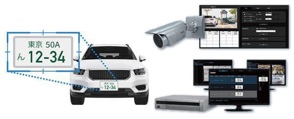 パナソニック、高精度ナンバー認識システム「NumberCATCH II(ナンバーキャッチ ツー)」を発売