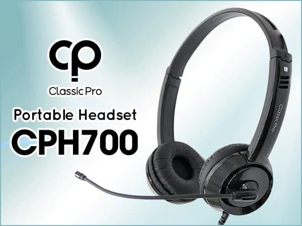 サウンドハウス、「CLASSIC PRO」より高音質ポータブルヘッドセット「CPH700」を発売