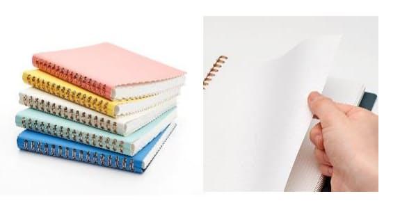 マルマン、デザインステーショナリー「SEPTCOULEUR」シリーズより汚れや水滴に強い素材使用のノートを発売