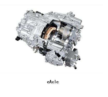アイシングループ、電動駆動モジュール「eAxle」がLEXUSの電気自動車市販モデル「LEXUS UX300e」に搭載