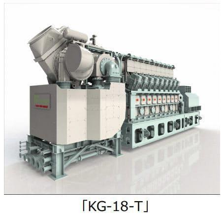 川崎重工、2段過給システムを搭載した7.5MW級新型ガスエンジン(1基)を受注