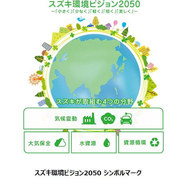 スズキ、環境問題に対する方向性「スズキ環境ビジョン 2050」と実現に向けた道標「マイルストーン 2030」を発表