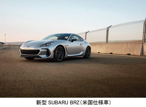 SUBARU、新型「SUBARU BRZ」を公開