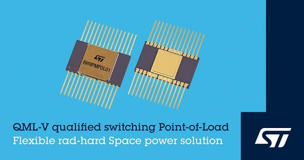 STマイクロ、宇宙環境に対応した高集積PoL DC-DCコンバータ「RHRPMPOL01」を発表