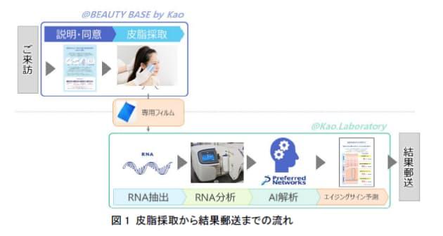 花王、皮脂RNAモニタリング技術を応用した美容カウンセリングサービスのテスト運用を開始