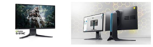 デルテクノロジーズ、プレミアムゲーミングパソコンブランド「ALIENWARE」からゲーミングモニター3製品を発売