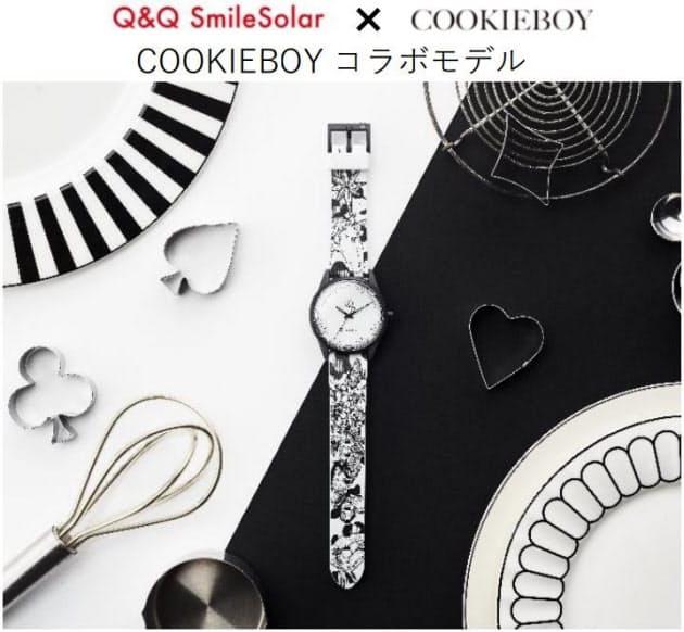 シチズン時計、「Q&Q SmileSolar」からアーティストとコラボした限定モデルシリーズを数量限定で発売