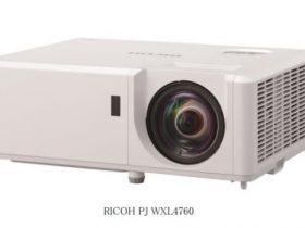 リコー、レーザー光源に対応した中輝度タイプの短焦点プロジェクター「RICOH PJ WXL4760」を発売