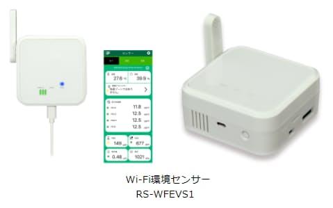 ラトックシステム、CO2濃度などの値を測れるWi-Fi接続の環境センサー「RS-WFEVS1」を12月下旬より出荷開始