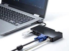 サンワサプライ、映像出力が可能なUSB3.2Gen1搭載のドッキングステーション・USBハブを発売