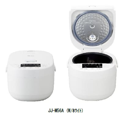ハイアールジャパンセールス、5.5合炊きマイコンジャー炊飯器「JJ-M56A」を発売