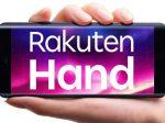 楽天モバイル、片手での操作に最適な4G対応のオリジナルスマホ「Rakuten Hand」