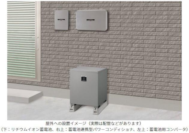 シャープ、大容量9.5kWhの住宅用クラウド蓄電池システム