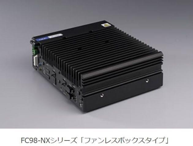 NEC、小型ファクトリコンピュータ「ファンレスボックスタイプ<A22K/A29X>」