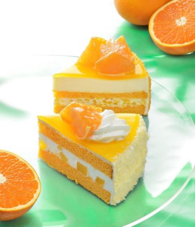 銀座コージーコーナー、愛媛産「清見オレンジ」を使ったケーキ3品