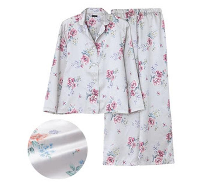 グンゼ、レディスブランド「Tuche(トゥシェ)」からしなやかな光沢感があるバターサテン素材パジャマ
