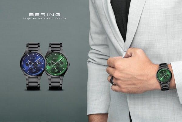 リズム、アイ・ネクストジーイーがデンマークウォッチブランド「BERING(ベーリング)」の新商品2型