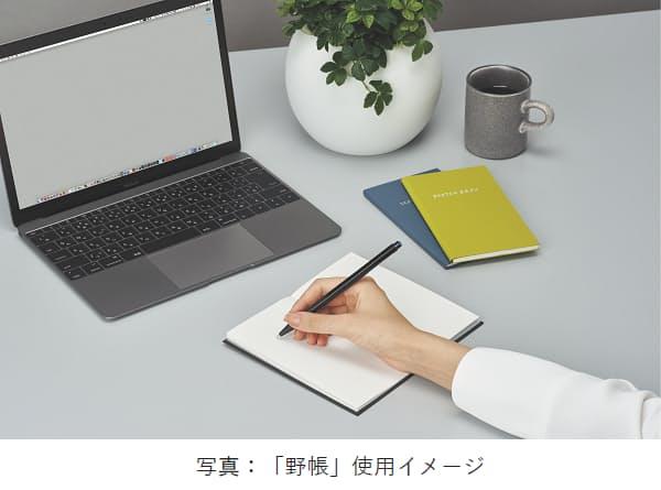 コクヨ、ビジネスツールとして活用しやすい表紙カラーと罫線の「野帳」