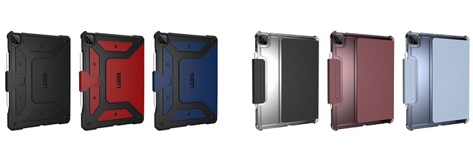 プリンストン、URBAN ARMOR GEAR社製iPad Pro用各種ケース