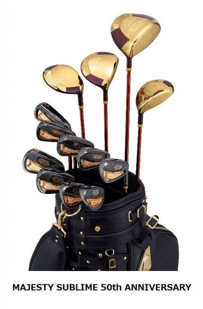 マジェスティ ゴルフ、創業50周年記念で「MAJESTY SUBLIME 50th ANNIVERSARY」
