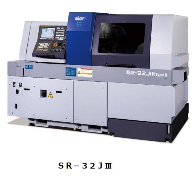 スター精密、スイス型自動旋盤「SRシリーズ」から大径部品加工が主要ターゲットの「SR-32JIII」