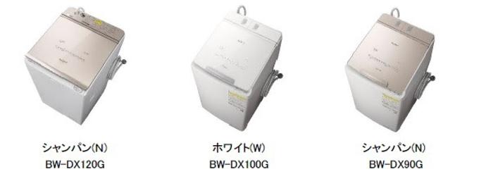 日立グローバルライフソリューションズ、コネクテッド家電 タテ型洗濯乾燥機「ビートウォッシュ」