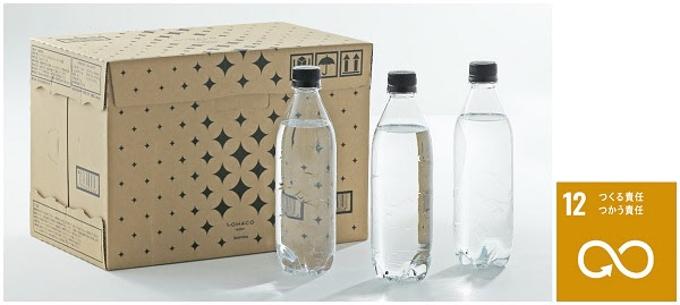 アスクル、オリジナル強炭酸水「LOHACO Water スパークリング」(1箱15本入・全3柄)