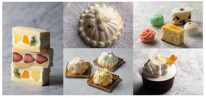 東京会館、東京ギフトパレット店限定のフルーツサンドケーキなど初夏のフルーツ系スイーツ