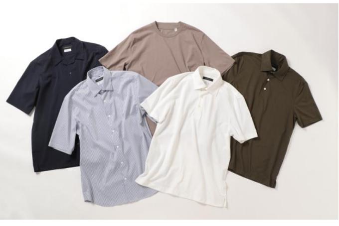 青山商事、再生ポリエステルを使用した半袖シャツ・ビズポロ・T シャツ
