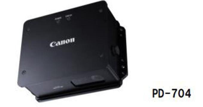 キヤノン、非接触式で対象物の移動量や速度の高精度測定を実現する非接触測長計「PD-704」