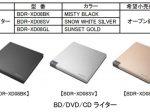 パイオニア、小型・軽量なポータブルBD/DVD/CDライター「BDR-XD08」