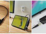 エレコム、スマートフォンを高速充電しながら音声と映像が同時に出力できる4K対応のUSB-C変換アダプター
