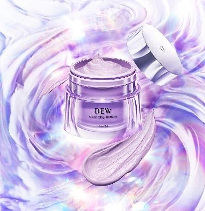 花王、カネボウ化粧品のスキンケアブランド「DEW(デュウ)」からクレイマスク洗顔「DEW クリアクレイフォンデュ」