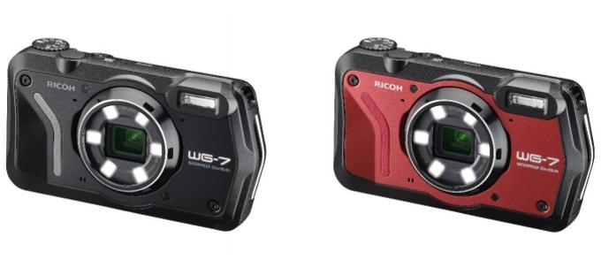 リコーイメージング、水深20mで連続2時間の水中撮影が可能な防水コンパクトデジタルカメラ「RICOH WG-7」