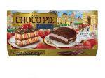 ロッテ、偉人たちが過ごした「ゆかりの地」シリーズ第2弾「チョコパイ<苺とショコラで仕立てたナポレオンパイ>」
