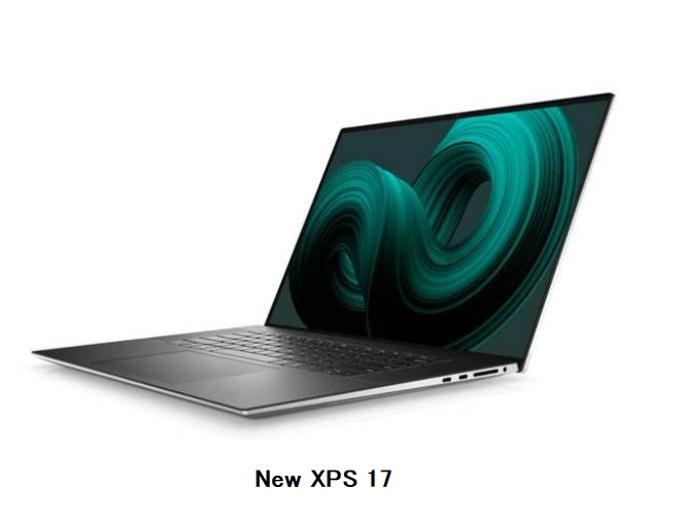 デル・テクノロジーズ、プレミアムノートパソコン「New XPS 17」「New XPS 15」